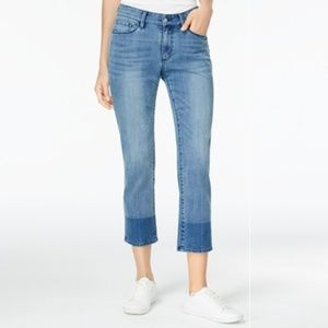 Buffalo Hope Cheerio Wash Curvy Fit Cropped Jeans